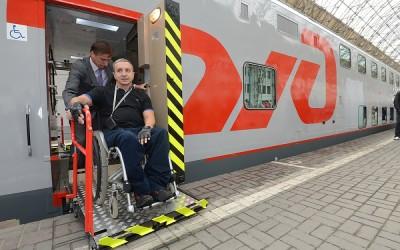 Минтрансом России определены правила обеспечения доступности для инвалидов пассажирских вагонов и вокзалов