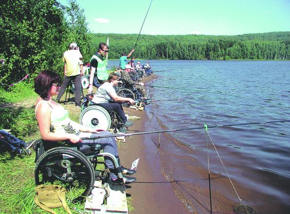 всероссийский рыболовный фестиваль инвалидов 2014