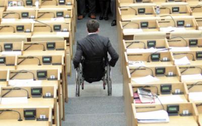 В регионах появятся заместители министров по делам инвалидов