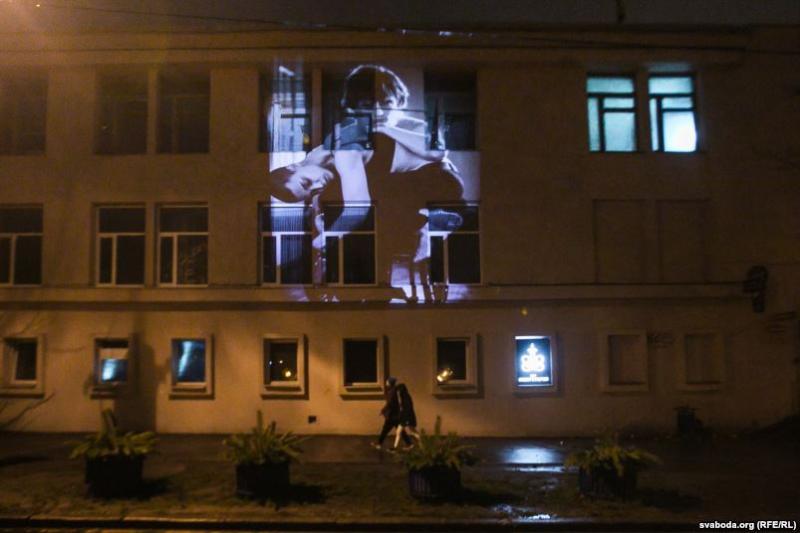 Финал событий: В Минске ночью прошел перфоманс в защиту людей с инвалидностью