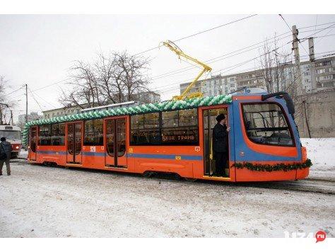 Низкополый трамвай по-магнитогорски