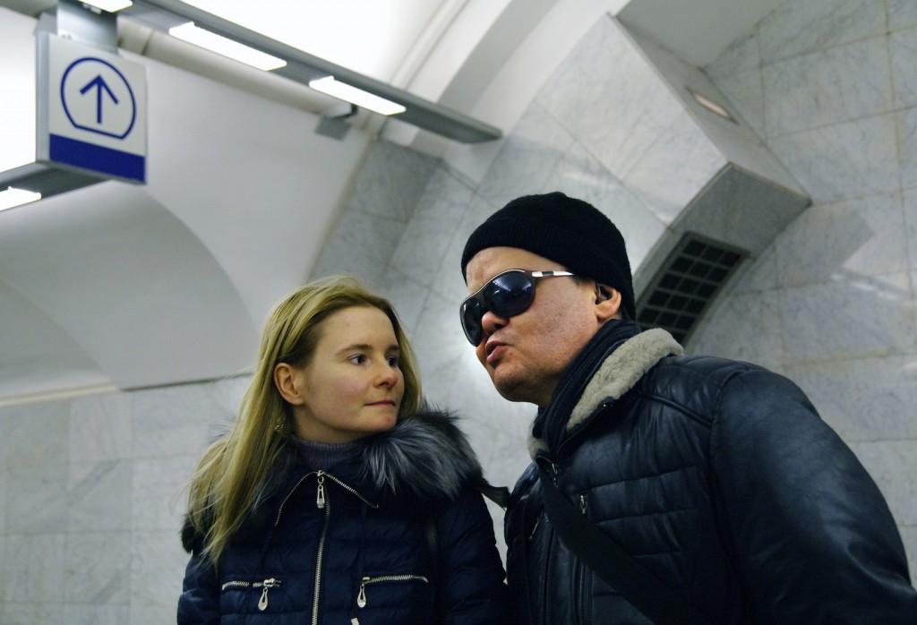 Фото: Филиппо Валоти Алебарди / МОСЛЕНТА Сергей Флейтин и Анастасия из «Службы Сопровождения»
