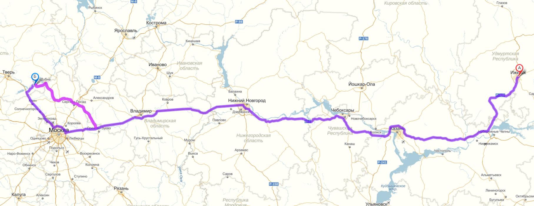 маршрут карта
