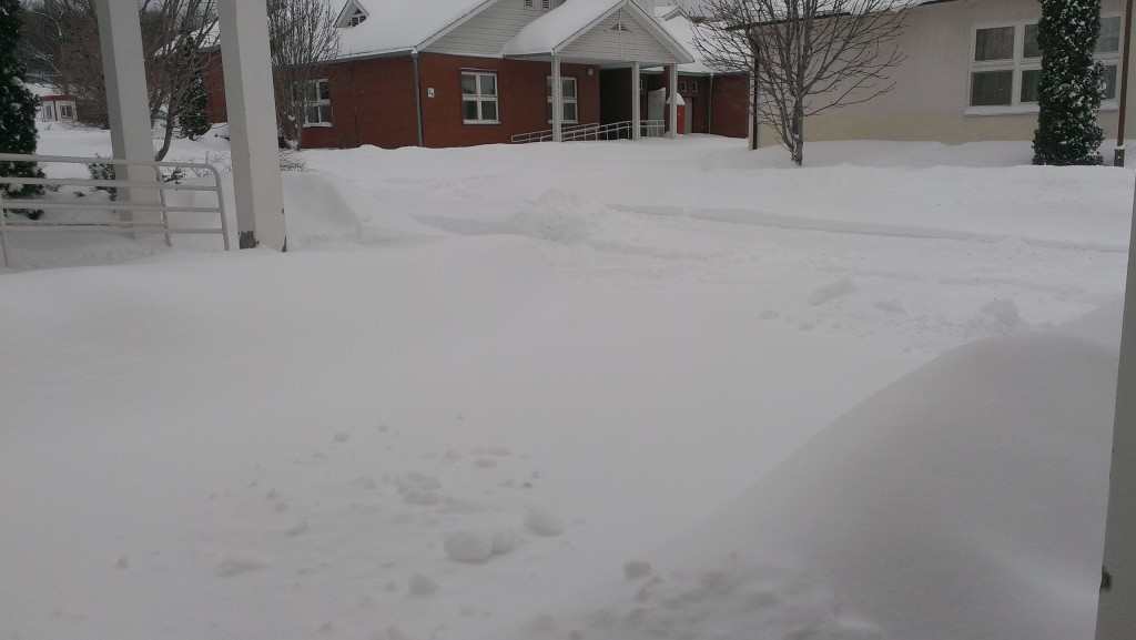 Снежный плен в самарском пансионате