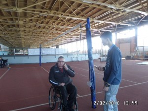 Тренировка по Паралимпийскому бочча_фото Ирина Крапива