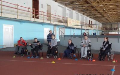 Первая в 2016 году тренировка по «Паралимпийскому бочча» состоялась