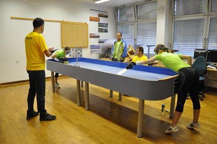 Шоудаун - теннис для слепых