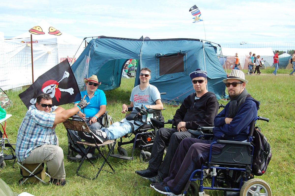 У нас был отдельный лагерь для инвалидов