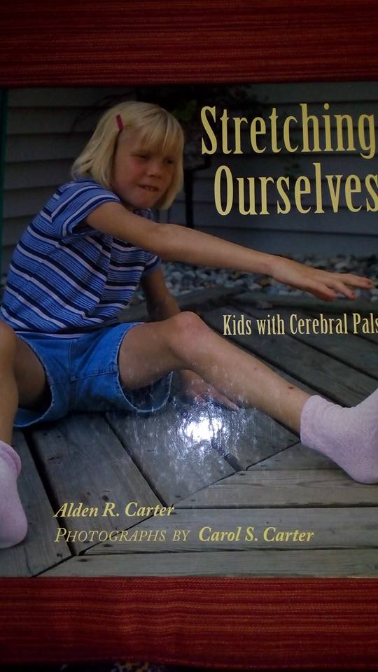 Это подарок для Майи от семьи Марка. Книга о детях с церебральным параличом, написанная самими детьми. Надо и нам написать такую!