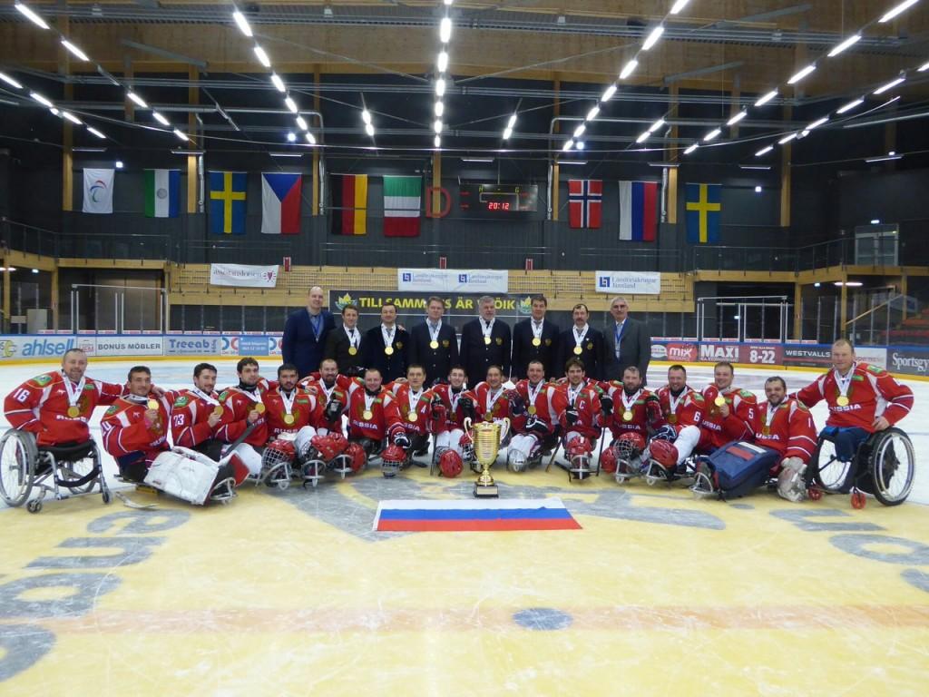 следж хоккей Чемпионат Европы