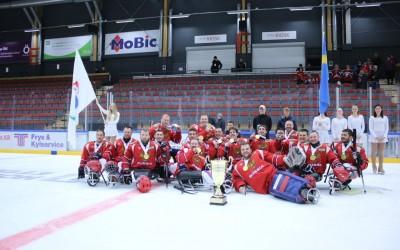 Следж-хоккеисты из Удмуртии стали чемпионами Европы в составе сборной России