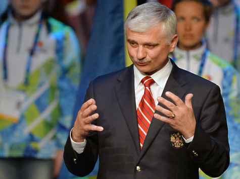 Председатель Сурдлимпийского комитета РФ Александр Романцов