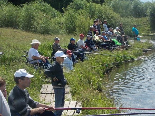 ПОСТ-РЕЛИЗ: VIII Республиканский рыболовный фестиваль среди инвалидов  23.06.2016