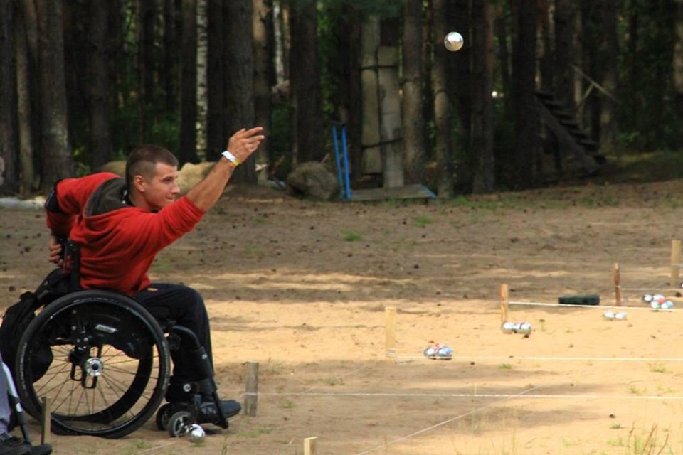 Всероссийский спортфестиваль инвалидов по бочча