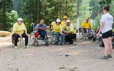 Фестиваль по бочча собрал участников со всей России