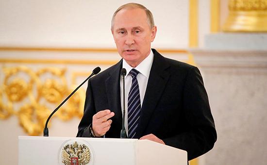 Путин объявил о проведении специальных соревнований вместо Паралимпиады