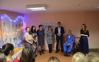 Открытие молодежного клуба «Косая аллея».