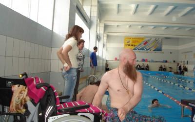 Набор людей с инвалидностью на занятия оздоровительным плаванием
