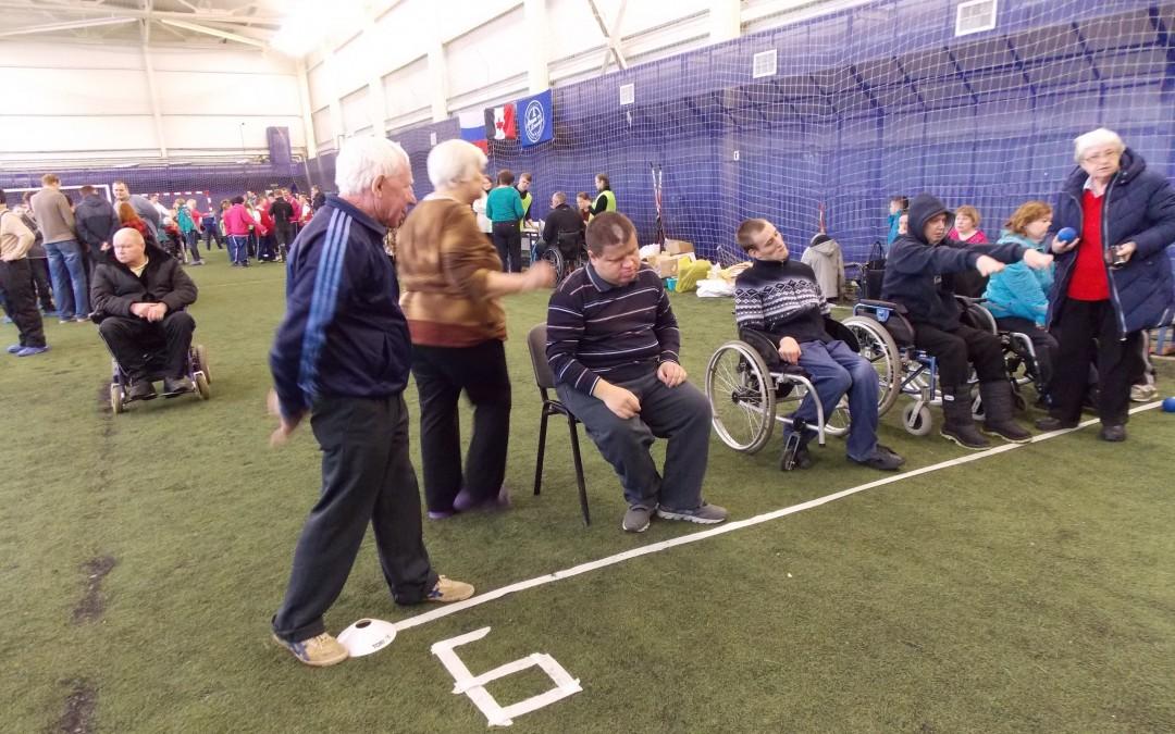 Фестивалем по игре в бочча отметили Международный день инвалидов в Удмуртии