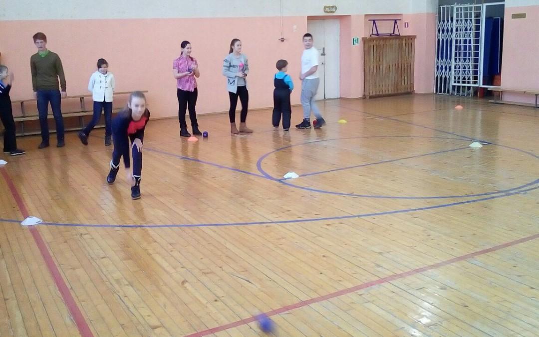В Хохряках провели семинар для детей с инвалидностью «Обучение игре бочча»