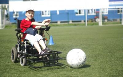 Футбол на электроколясках — вид спорта, претендующий на включение в программу Паралимпийских игр