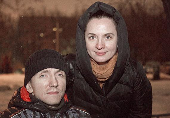 Роман и его жена Наталья