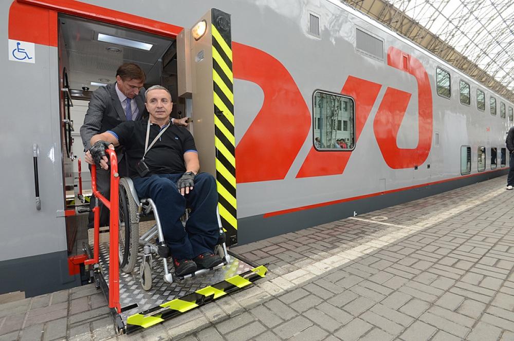 У инвалидов-колясочников появилась возможность приобретать железнодорожные билеты через Интернет