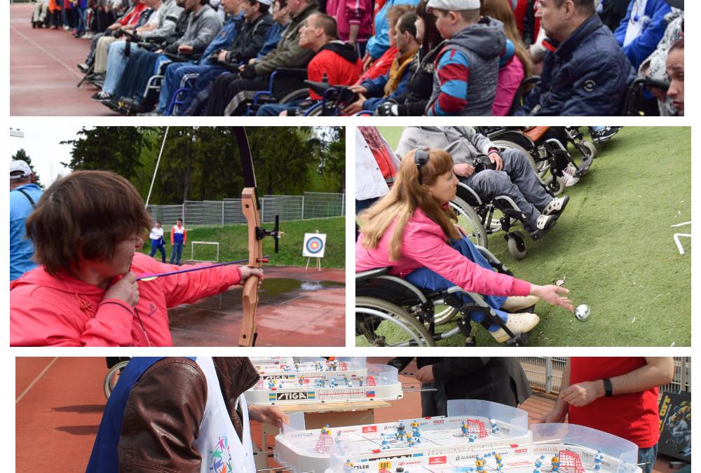Приглашаем на «Весенний фестиваль спорта среди инвалидов» — 4 мая 2017г