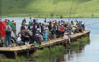 В Удмуртии прошел рыболовный фестиваль для людей с инвалидностью