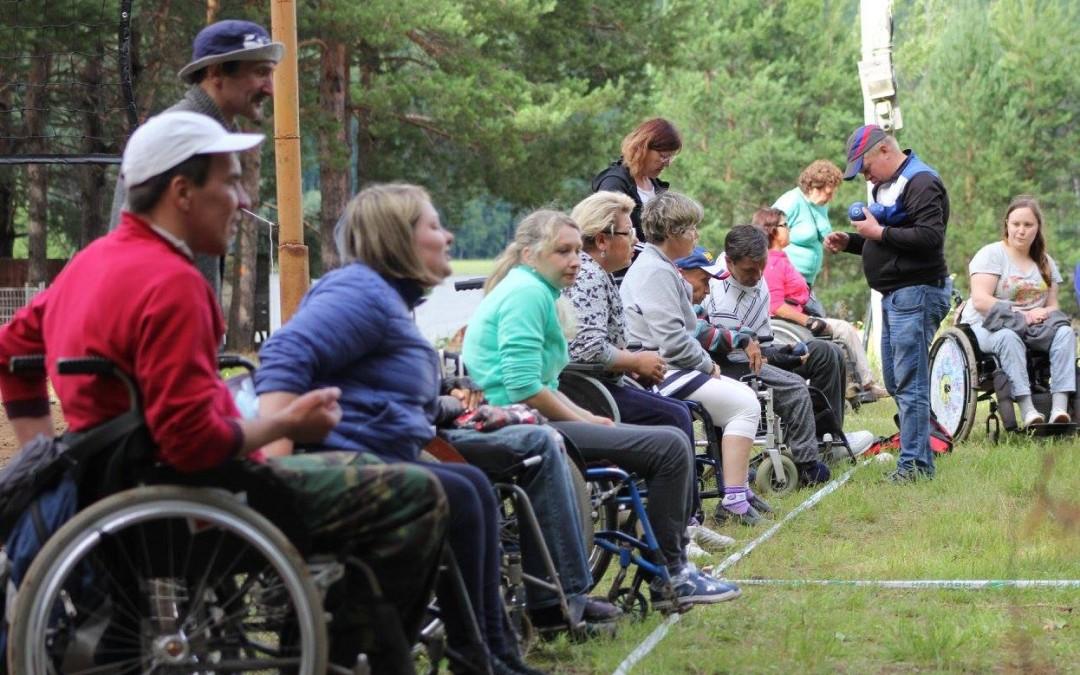 II Всероссийский фестиваль инвалидов по бочча прошел на берегу Камы