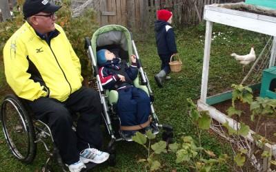 Важная птица: в Удмуртии реализуется необычный проект для детей-инвалидов