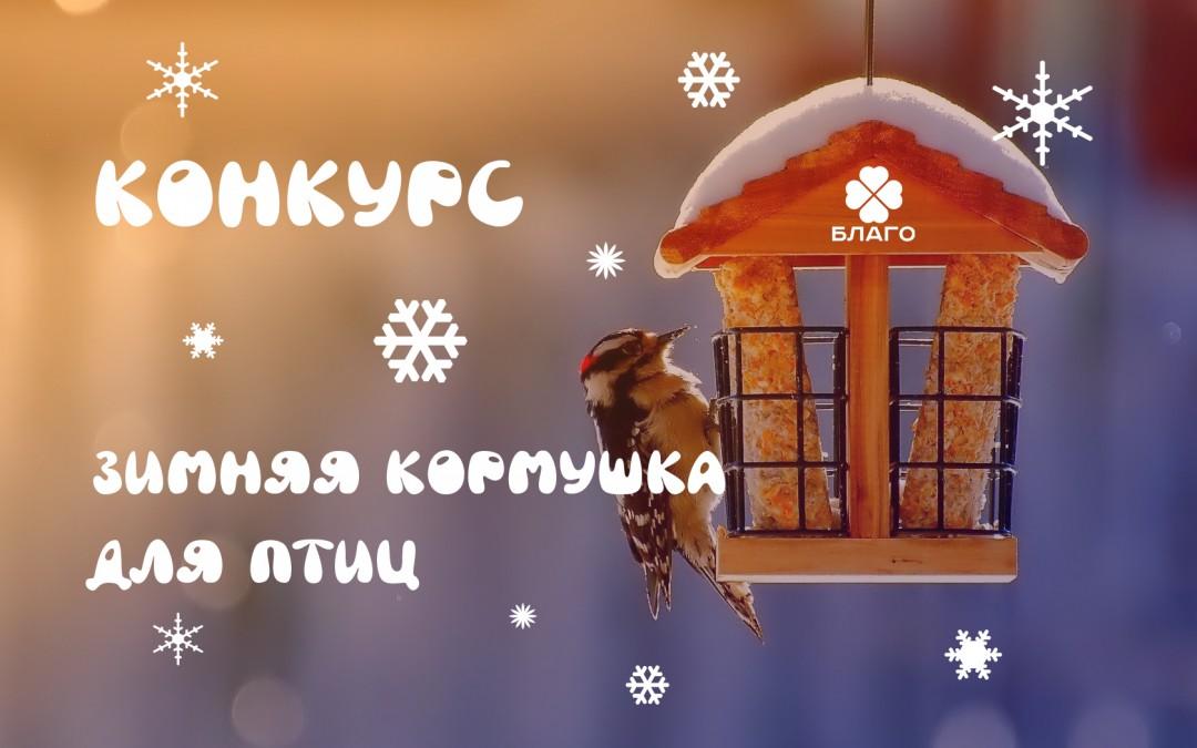 Конкурс «Зимняя кормушка для птиц»