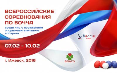 Всероссийские соревнования по бочча соберут спортсменов с инвалидностью в Ижевске в феврале