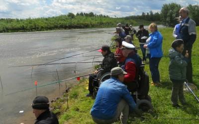В Удмуртии прошел 10-й рыболовный фестиваль для людей с инвалидностью