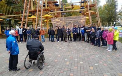 Пост-релиз «Туристическая тропа для инвалидов 2018»
