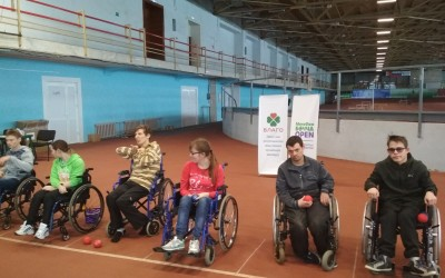 Пост-релиз: Кубок города Ижевска по бочча для лиц с поражением опорно-двигательного аппарата