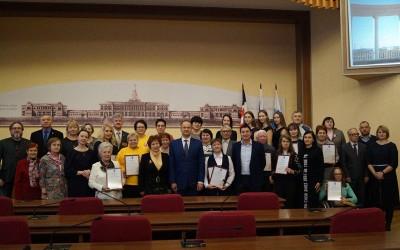 Победители Городского конкурса инициатив и достижений в 2018 году