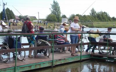 Как прошел 11-й Республиканский рыболовный фестиваль среди инвалидов