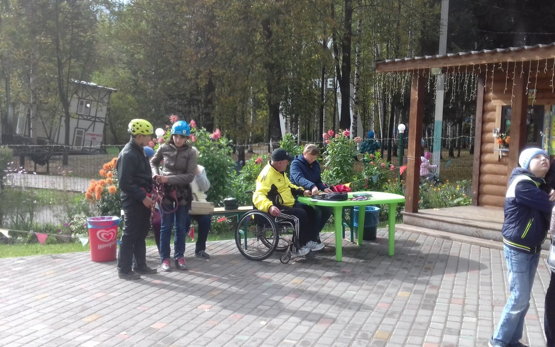 В Ижевске люди с инвалидностью вышли на туристическую тропу
