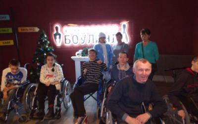 «Благо» посетили боулинг–клуб