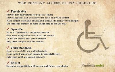 Доступный Интернет. Руководство по обеспечению доступности веб-контента.